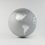 Chrome Earth Stock Photo