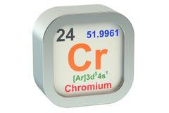 Chrome. Element symbol on white background vector illustration