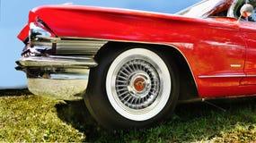 Chrome en Stijl, Cadillac-Details Royalty-vrije Stock Foto
