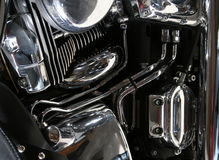 Chrome Engine Royalty Free Stock Photo