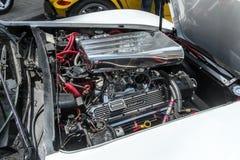Chrome engine Stock Photo