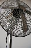 Chrome fan. Detail of a chrome fan Stock Photography