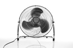Chrome fan front view Stock Photography