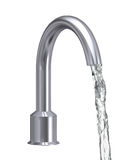 Chrome Faucet Isolated Royalty Free Stock Images
