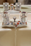 Chrome faucet Stock Image