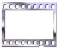 Chrome film negative. Film negative with chrome effect Stock Photos