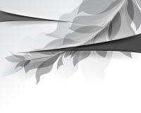 Chrome foliage background Royalty Free Stock Images
