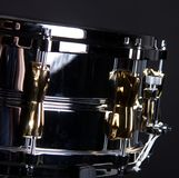 Chrome and  Gold Snare Drum Stock Image