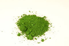 Chrome green pigment Stock Image