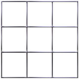 Chrome Grid Royalty Free Stock Photos