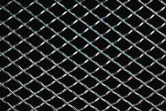 Chrome grille Royalty Free Stock Image