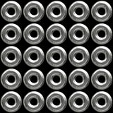 Chrome Grommets Background Royalty Free Stock Images