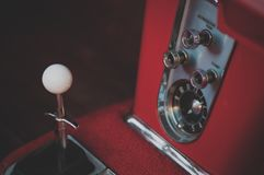 Chrome, Handle, Inside Royalty Free Stock Images