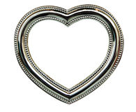 Chrome Heart Frame Royalty Free Stock Photos