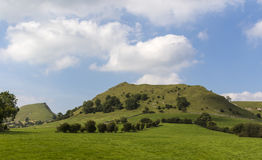 Chrome Hill and Parkhouse Hill, Peak District, Derbyshire, Engla Royalty Free Stock Images