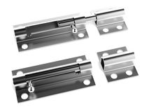 Chrome latch Royalty Free Stock Photography