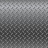 Chrome-Metaaltextuur (Naadloos Patroon) Stock Fotografie