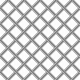 Chrome metal grid diagonal seamless background Royalty Free Stock Photography