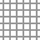 Chrome metal grid seamless background Royalty Free Stock Image