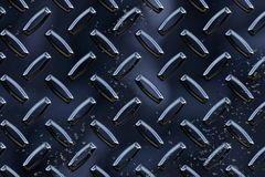 Chrome Metal Material Royalty Free Stock Image