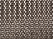 Chrome metal texture Stock Photography