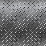 Chrome-Metallbeschaffenheit (nahtloses Muster) Stockfotografie