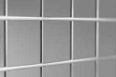 Chrome-Metallgitter - backtround Stockbilder