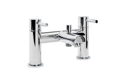 Chrome Mixer Tap Royalty Free Stock Images