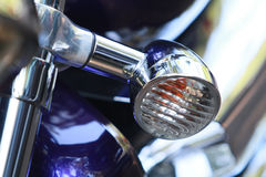 Chrome-motorfiets Royalty-vrije Stock Foto