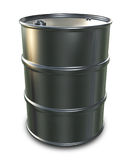 Chrome Oil Drum Royalty Free Stock Image
