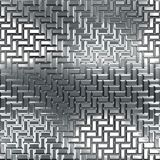 Chrome pattern Stock Photo