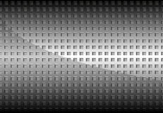 Chrome Perforated Metal Grid Stock Photography