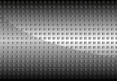Chrome perfurou a grade do metal Fotografia de Stock