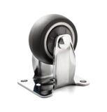 Chrome plateó el echador de acero industrial Fotografía de archivo libre de regalías