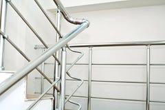 Chrome railing Stock Photography