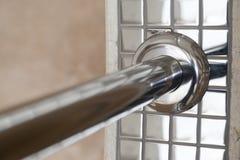 Chrome railings detail Stock Image