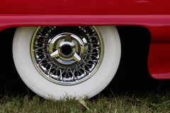 Chrome rim Stock Photography