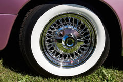 Chrome rims Royalty Free Stock Image