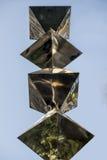 Chrome sculpture Royalty Free Stock Photos
