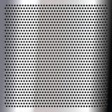 Chrome - sheet metallic Stock Photo
