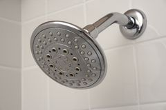 Chrome Shower Head Royalty Free Stock Photo