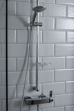 Chrome shower Stock Photos