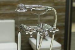 Chrome shower. Stock Images