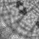 Chrome Snakeskin Imagen de archivo