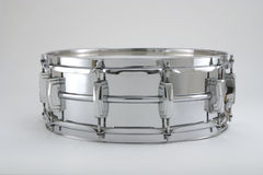 Chrome Snare Drum Stock Image