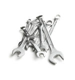 Chrome spanners Royalty Free Stock Photography