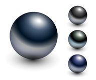 Chrome Sphere Royalty Free Stock Images