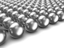 Free Chrome Spheres Royalty Free Stock Photo - 30417545