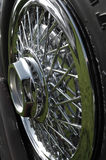 Chrome Spoked Wheel Royalty Free Stock Photo