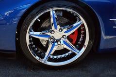 Chrome Star Wheel Stock Images
